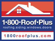 1-800-roof-plus  , i am also going to be using 1800roofplus.com for materials Logo - Entry #49
