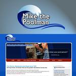 Mike the Poolman  Logo - Entry #102