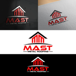 Mast Metal Roofing Logo - Entry #302