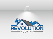 Revolution Roofing Logo - Entry #281