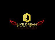 LiveDream Apparel Logo - Entry #166