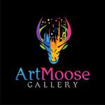 ArtMoose Gallery Logo - Entry #24