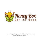 Honey Box Logo - Entry #7