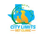 City Limits Vet Clinic Logo - Entry #334