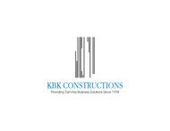 KBK constructions Logo - Entry #139