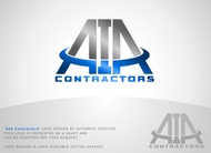AIA CONTRACTORS Logo - Entry #103