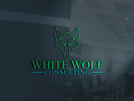 White Wolf Consulting (optional LLC) Logo - Entry #476