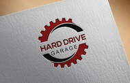 Hard drive garage Logo - Entry #76