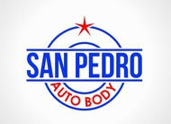 San Pedro Auto Body Logo - Entry #124
