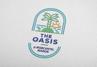 The Oasis @ Marcantel Manor Logo - Entry #63