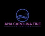 Ana Carolina Fine Art Gallery Logo - Entry #47