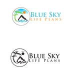 Blue Sky Life Plans Logo - Entry #348