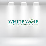 White Wolf Consulting (optional LLC) Logo - Entry #434