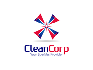B2B Cleaning Janitorial services Logo - Entry #109
