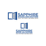 Sapphire Shades and Shutters Logo - Entry #61