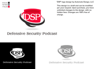 Defensive Security Podcast Logo - Entry #13