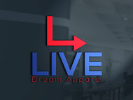 LiveDream Apparel Logo - Entry #250