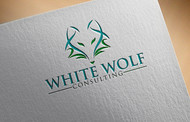 White Wolf Consulting (optional LLC) Logo - Entry #354