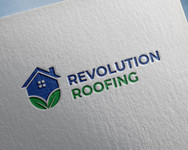 Revolution Roofing Logo - Entry #523