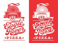 Eagle River Wood Fired Pizza Logo - Entry #37