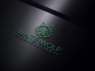 White Wolf Consulting (optional LLC) Logo - Entry #483