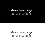 Luxury Builds Logo - Entry #183