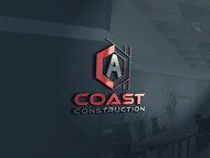 CA Coast Construction Logo - Entry #4