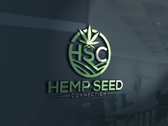 Hemp Seed Connection (HSC) Logo - Entry #151