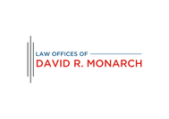 Law Offices of David R. Monarch Logo - Entry #23