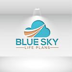 Blue Sky Life Plans Logo - Entry #198