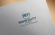 Rams Duty Free + Smoke & Booze Logo - Entry #140