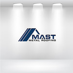 Mast Metal Roofing Logo - Entry #38