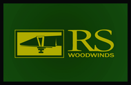 Woodwind repair business logo: R S Woodwinds, llc - Entry #125