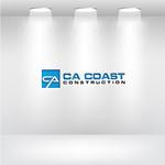 CA Coast Construction Logo - Entry #101