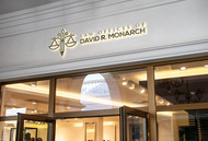 Law Offices of David R. Monarch Logo - Entry #245