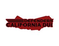 California DUI Defenders Logo - Entry #19