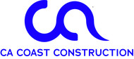 CA Coast Construction Logo - Entry #143