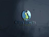 City Limits Vet Clinic Logo - Entry #192