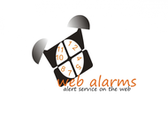 Logo for WebAlarms - Alert services on the web - Entry #14