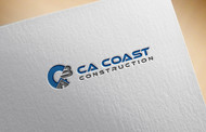 CA Coast Construction Logo - Entry #78