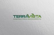 TerraVista Construction & Environmental Logo - Entry #222