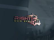 Right Now Semi Logo - Entry #189