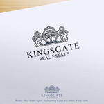 Kingsgate Real Estate Logo - Entry #116
