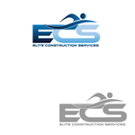 Elite Construction Services or ECS Logo - Entry #148