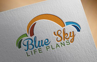 Blue Sky Life Plans Logo - Entry #402