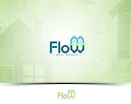 Flow Real Estate Logo - Entry #106