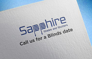 Sapphire Shades and Shutters Logo - Entry #95