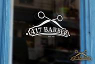 417 Barber Logo - Entry #66