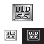 """""""OLD 55"""" - mid-century vintage furniture and wares store Logo - Entry #41"""