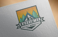 Ruffin'It Logo - Entry #102